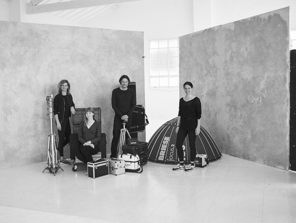 The CEO Portraits Europe creative team