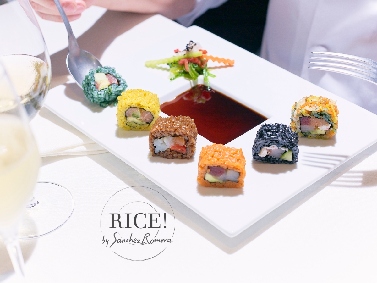 Barcelona Roll, RICE! by Sanchez Romera