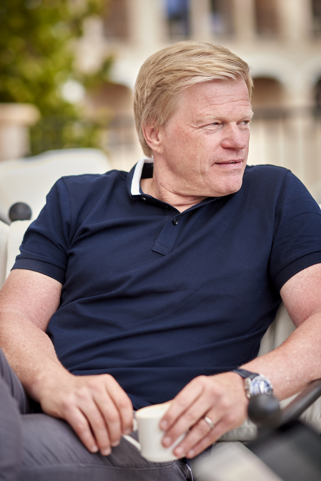 Oliver Kahn for Der Spiegel Photo: Oliver Brenneisen